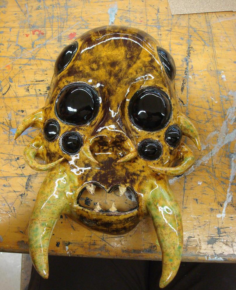 Spider mask by Sabeku