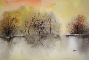 evening colors by ashfaq-ayon