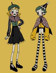7 USD creepy doll ADOPTS (1/2 OPEN) by smolcicada