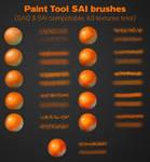 Paint tool SAI brushes (SAI/SAI2)