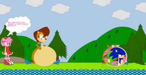 Sally Ate Sonic and Cameron