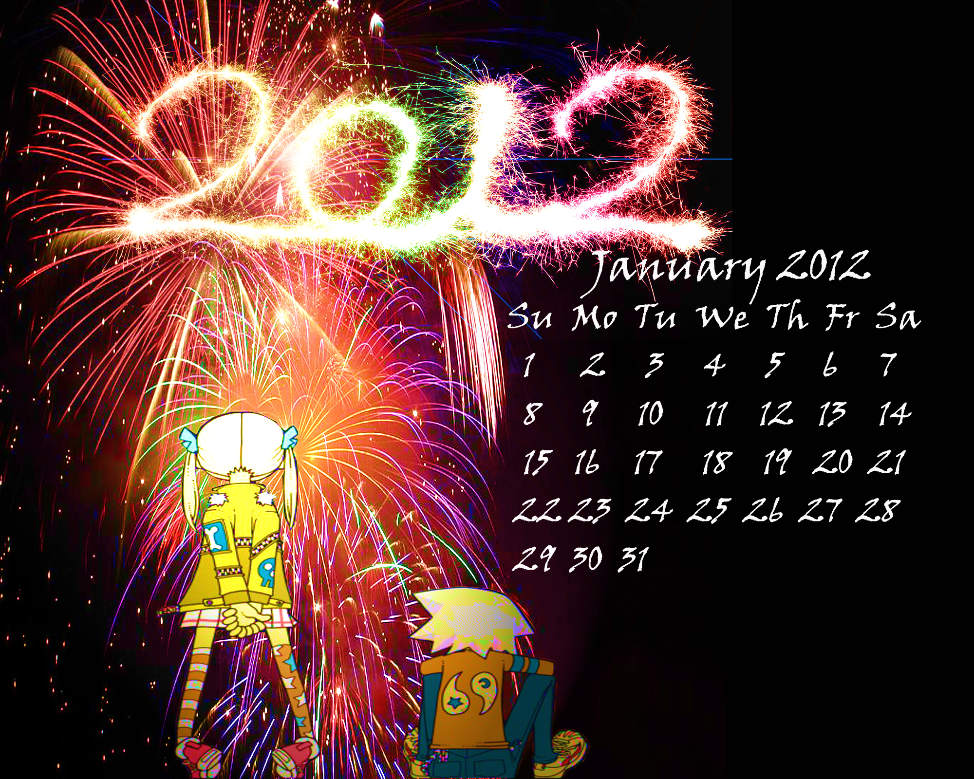 Happy 2012 by BlacklightTrance