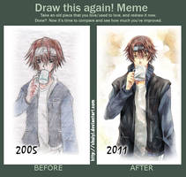 Draw this again Meme by chuiyi