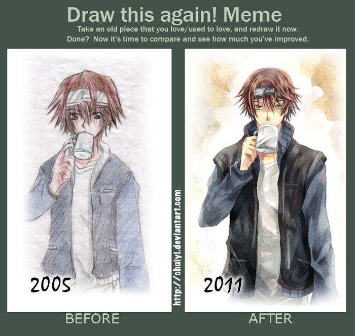 Draw this again Meme by chuiyi
