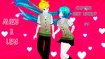 Miku x Len Get Lucky by DaikiAkemi