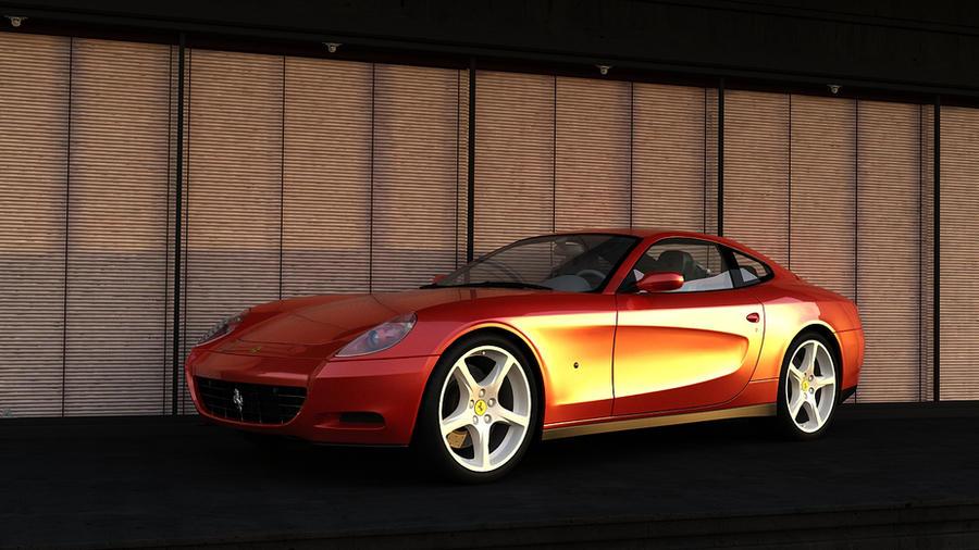Ferrari 2004 612 Scaglietti by melkorius
