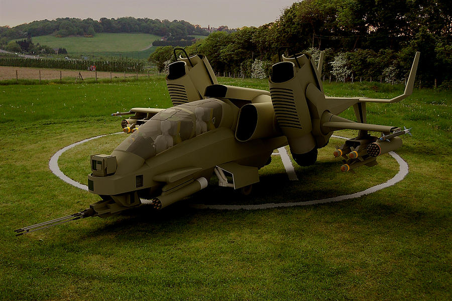 Agusta Westland RAH-808 Moongoose by melkorius