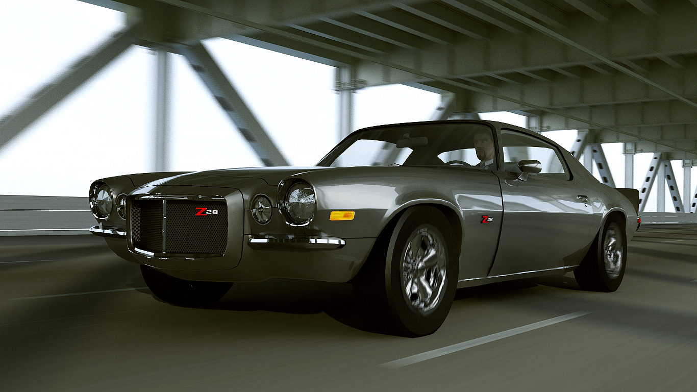 1972 Chevrolet Camaro Z28 By Melkorius On Deviantart