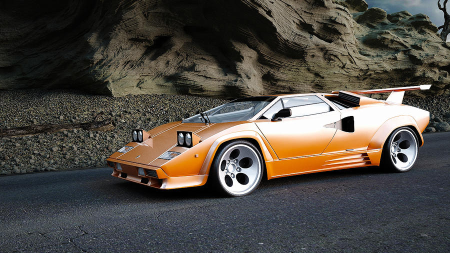 Lamborghini Countach 5000 Qv 1988 By Melkorius On Deviantart