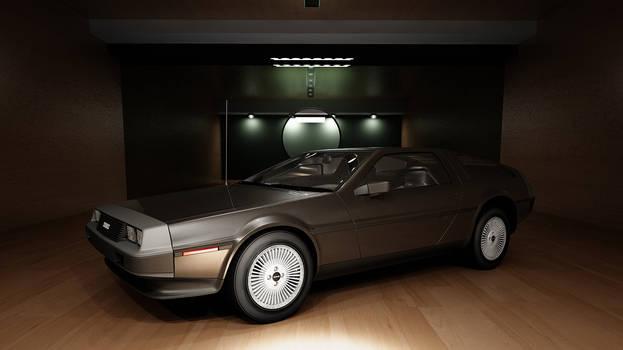 DeLorean 1982 DMC-12 by melkorius