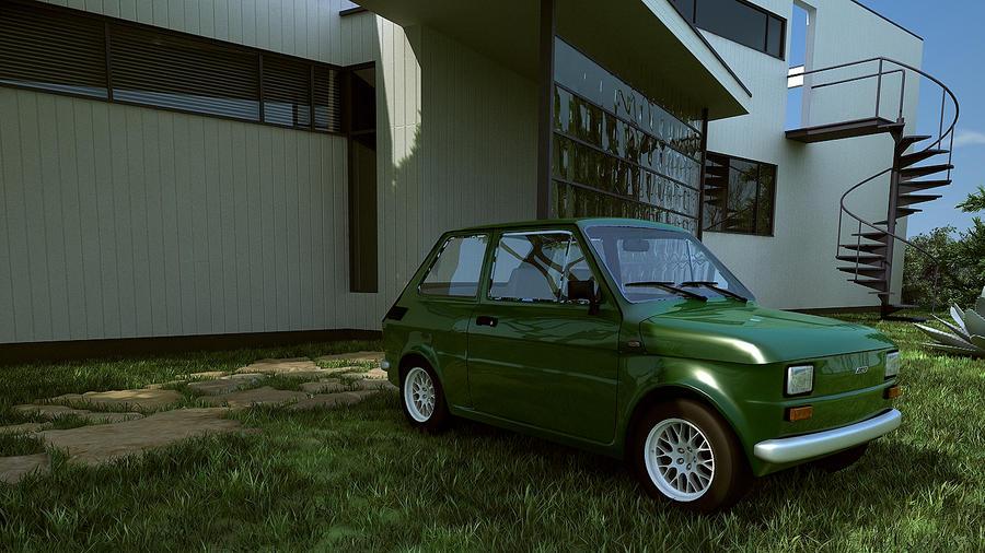 1972 Fiat 126 by melkorius