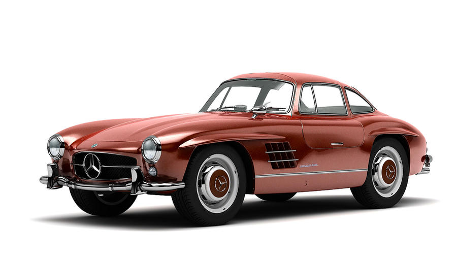 1954 mercedes benz 300sl gullwing coupe by melkorius on for 1954 mercedes benz 300sl