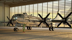 1942 Boeing B-29 Superfortress by melkorius