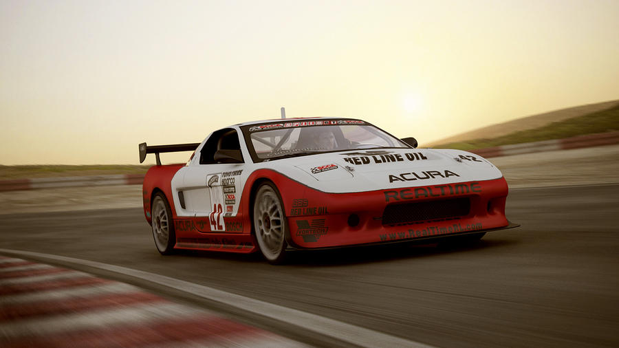 Acura 2002 NSX #42 Realtime Racing by melkorius