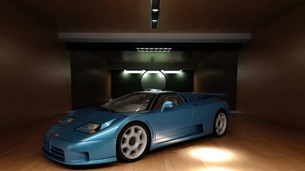 Bugatti 1992 EB110 SS by melkorius