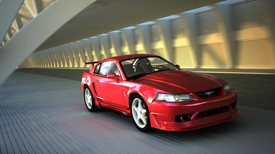 2000 ford mustang cobra r by melkorius on deviantart. Black Bedroom Furniture Sets. Home Design Ideas
