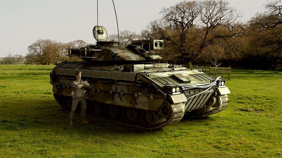 1981 M2 Bradley by melkorius