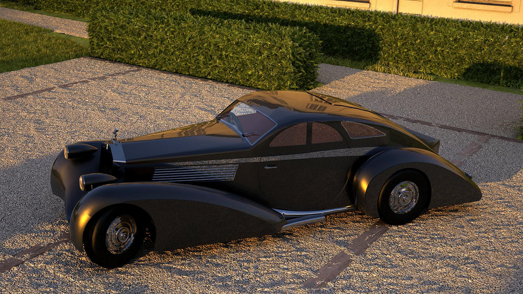 1925 Rolls Royce Phantom I Jonckheere Coupe By Melkorius