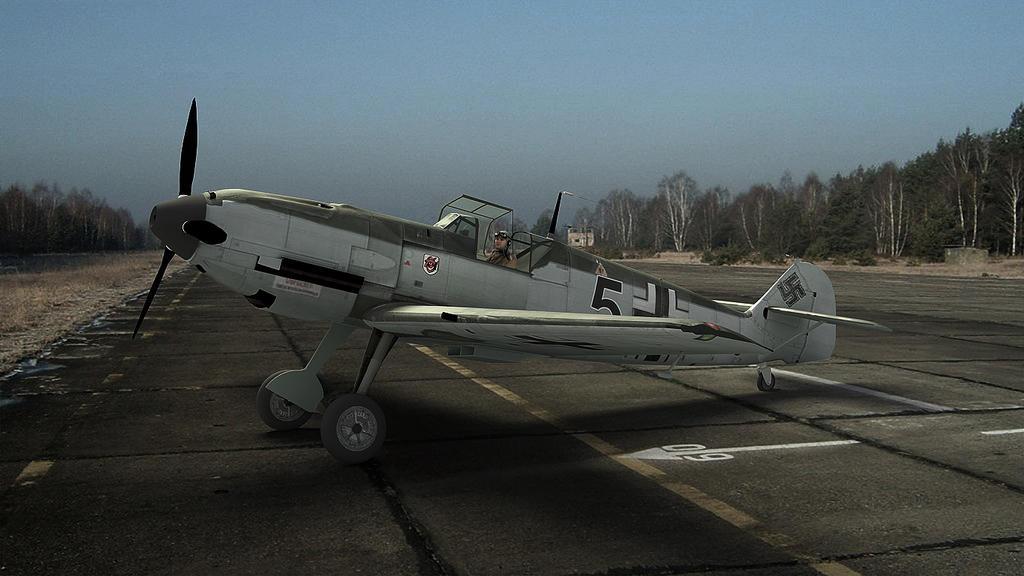 1935 Messerschmitt Bf109e by melkorius