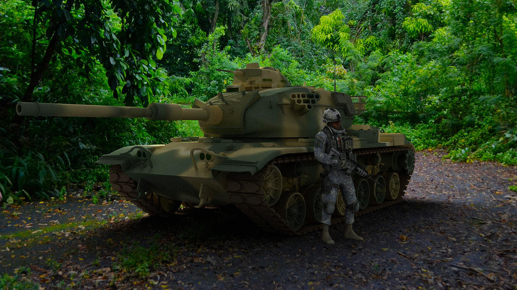1978 M60 A3 by melkorius