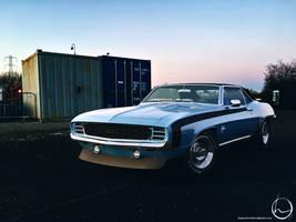 1969 Chevrolet Camaro SS Coupe by melkorius