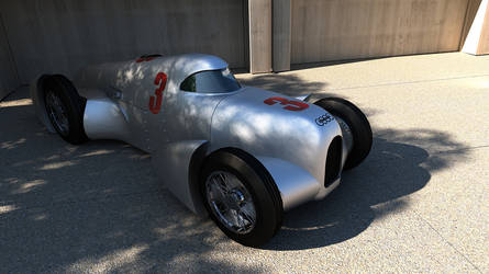 1935 Auto Union record car Type B Lucca