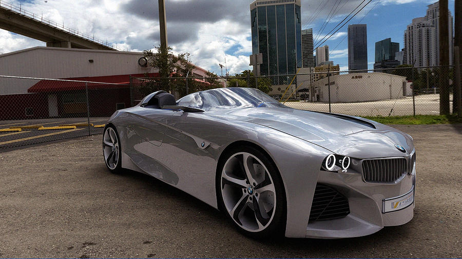 2011 BMW Vision Connected Drive Concept by melkorius on DeviantArt
