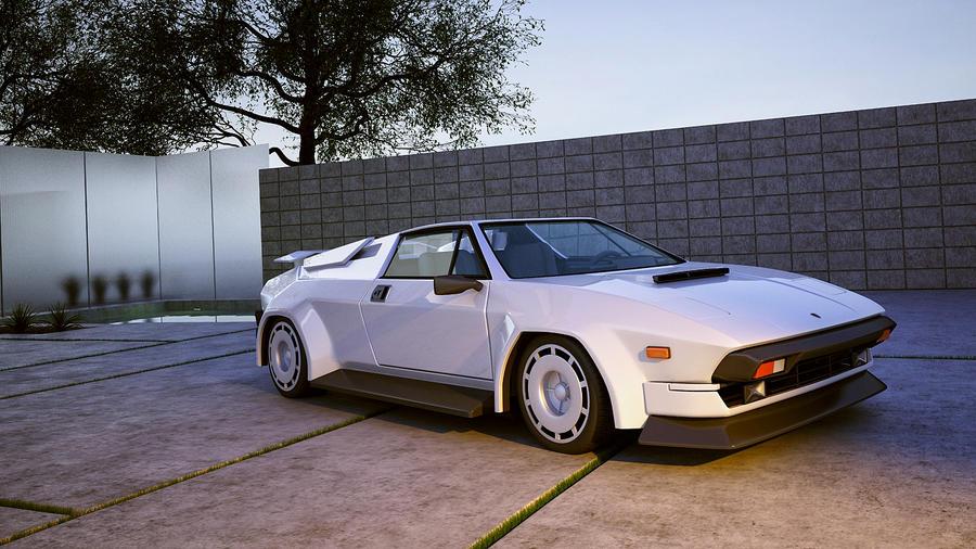 1981 Lamborghini Jalpa by melkorius