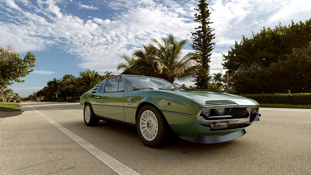 1970 Alfa Romeo Montreal by melkorius