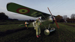 1918 Belgian Air Force Fokker DVII