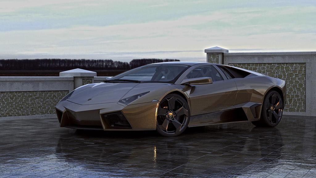 2008 Lamborghini Reventon (repost) by melkorius
