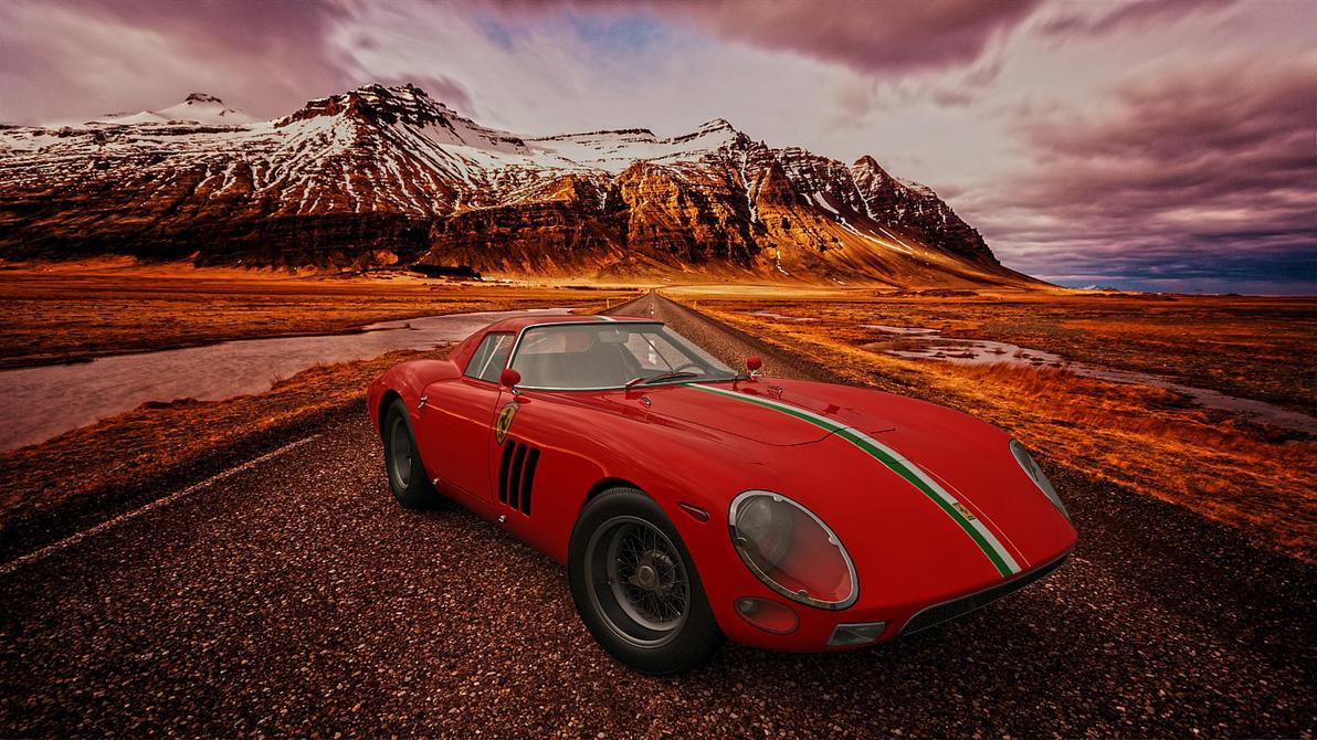 1964 Ferrari 250 GTO by melkorius