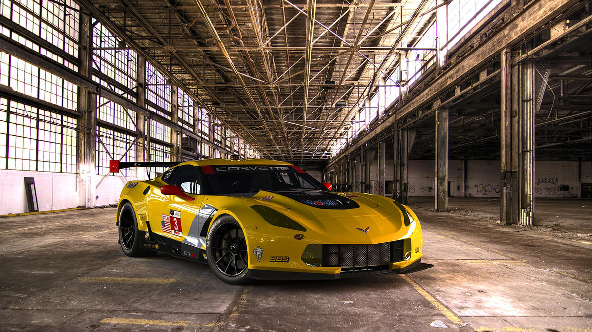 2015 Chevrolet Corvette C7.R by melkorius