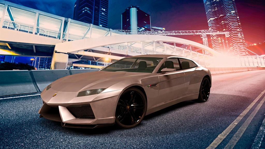2008 Lamborghini Estoque Concept by melkorius