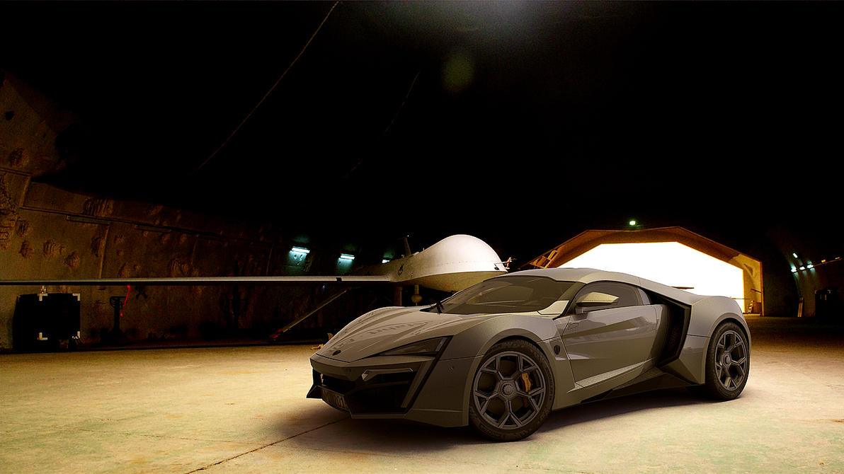 2012 W Motors Lykan Hypersport by melkorius