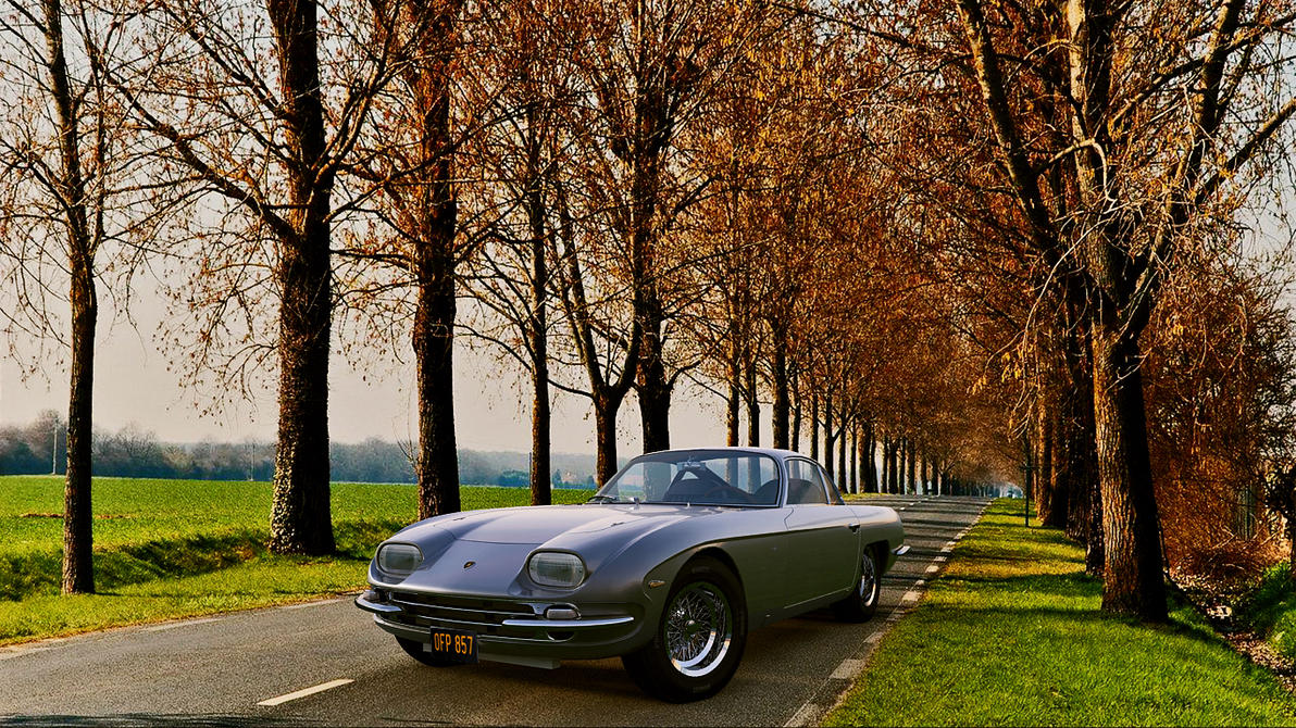 1964 Lamborghini 350GT by melkorius