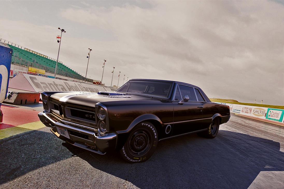 1965 Pontiac Gto by melkorius