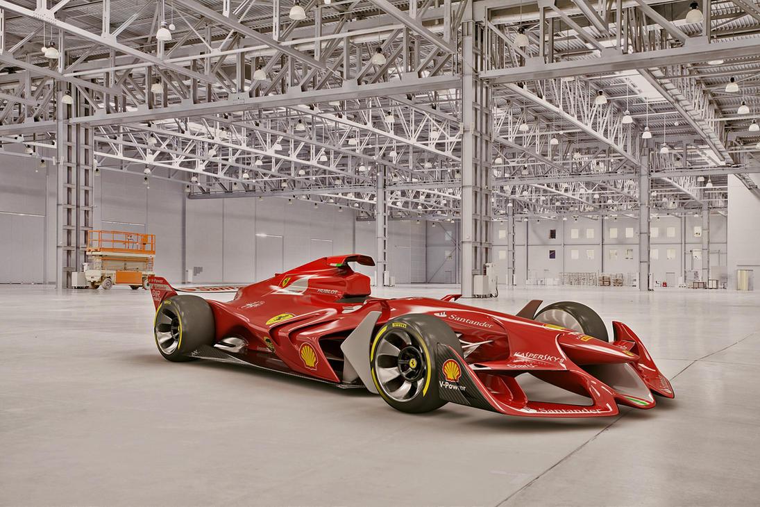 2015 Ferrari F1 Concept by melkorius