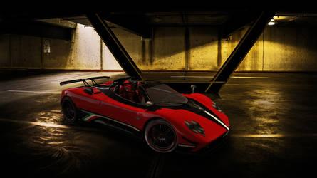 2009 Pagani Zonda Cinque Roadster by melkorius