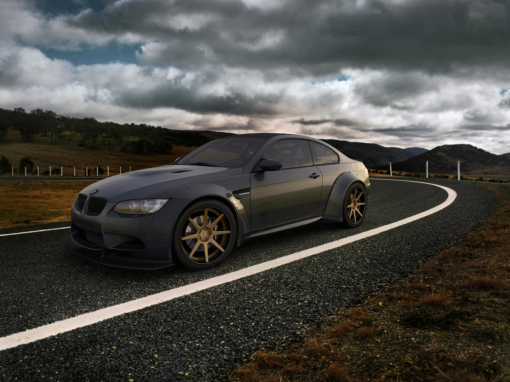 2011 BMW M3 E92 Coupe GTS Liberty Walk by melkorius