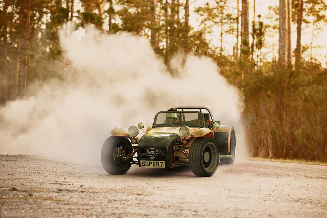 1970  Lotus Super Seven II by melkorius