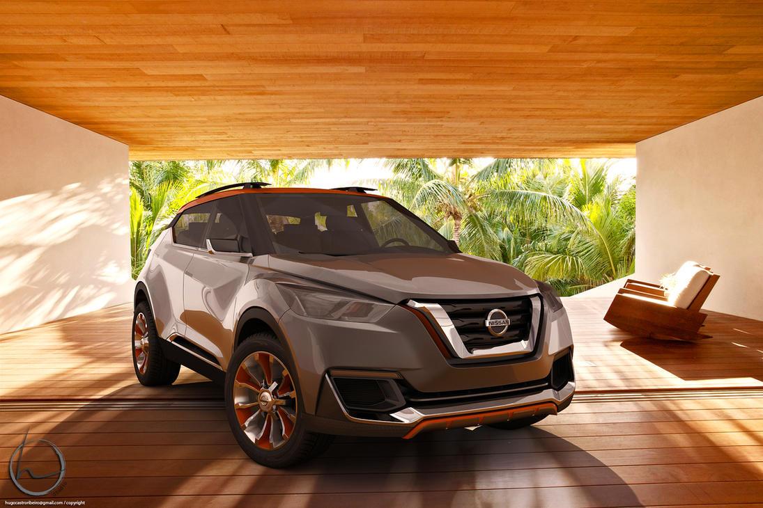 2014 Nissan Kicks Prototype by melkorius