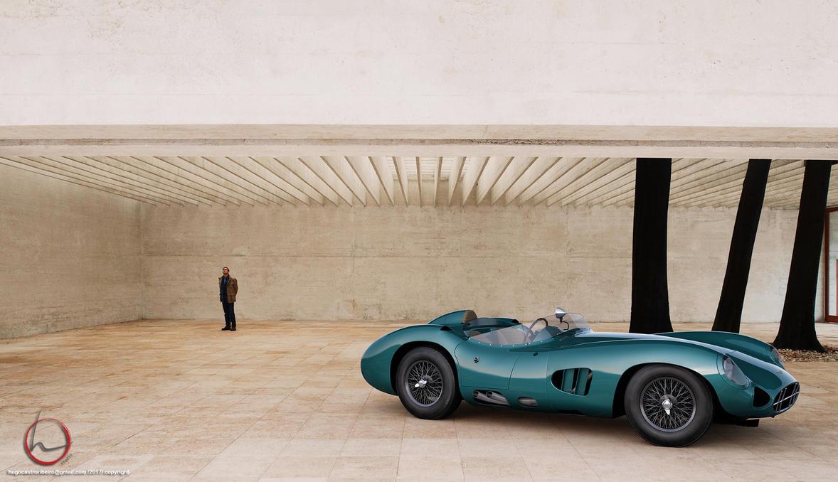 1958 Aston Martin DBR1 by melkorius
