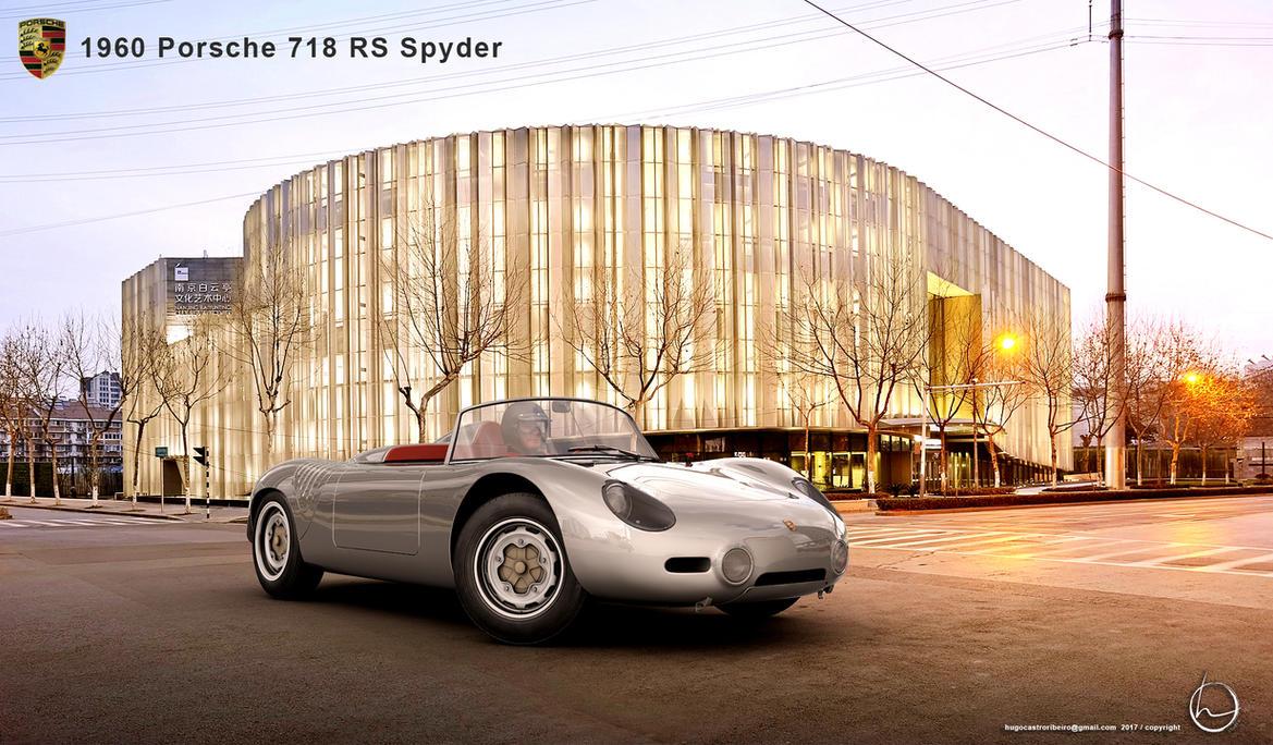 1960 Porsche 718 RS Spyder by melkorius