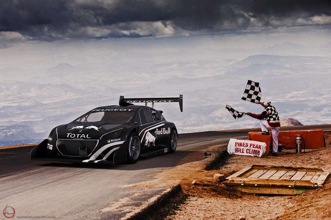2013 Peugeot 208T16 Pikes Peak By Melkorius On DeviantArt