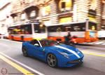 2015 Ferrari F60 America by melkorius