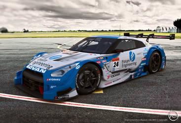 2016 Nissan Super GT500 by melkorius