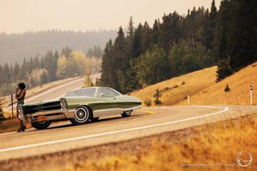 1966 Pontiac Bonneville Hardtop by melkorius
