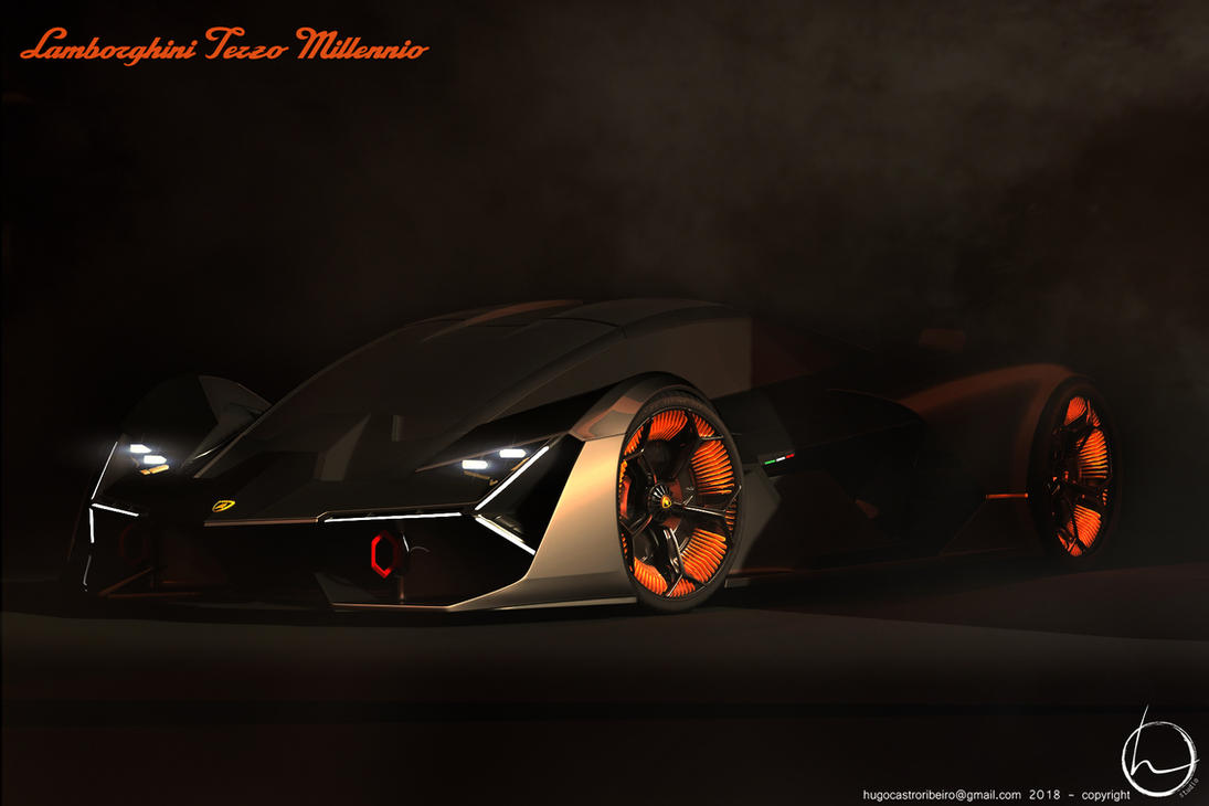 Lamborghini Terzo Millennio by melkorius