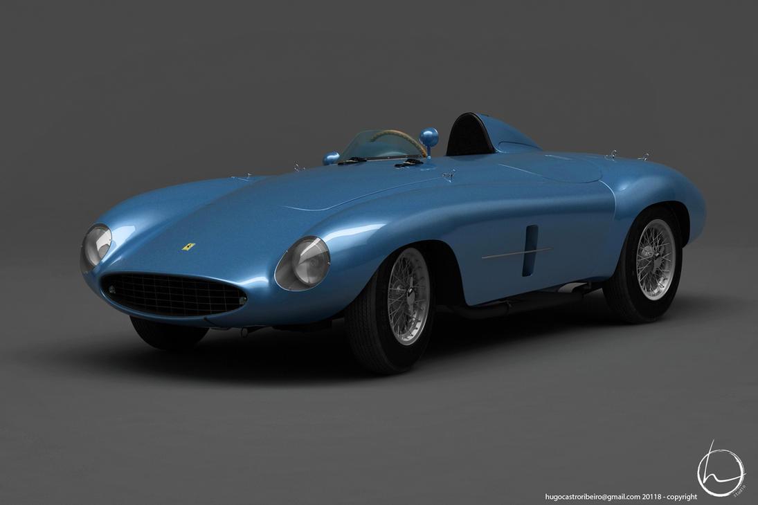 1953 Ferrari 500 Mondial by melkorius